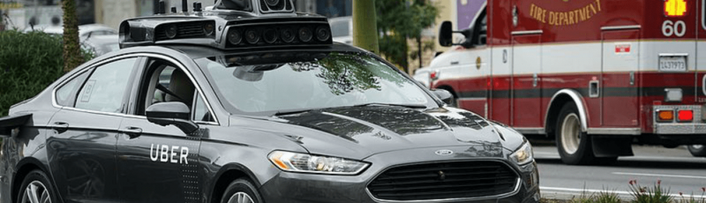 self-driving car kills pedestrian